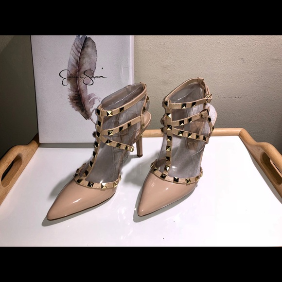 99324444e1b1 New Dameera Studded T-Straps by Jessica Simpson